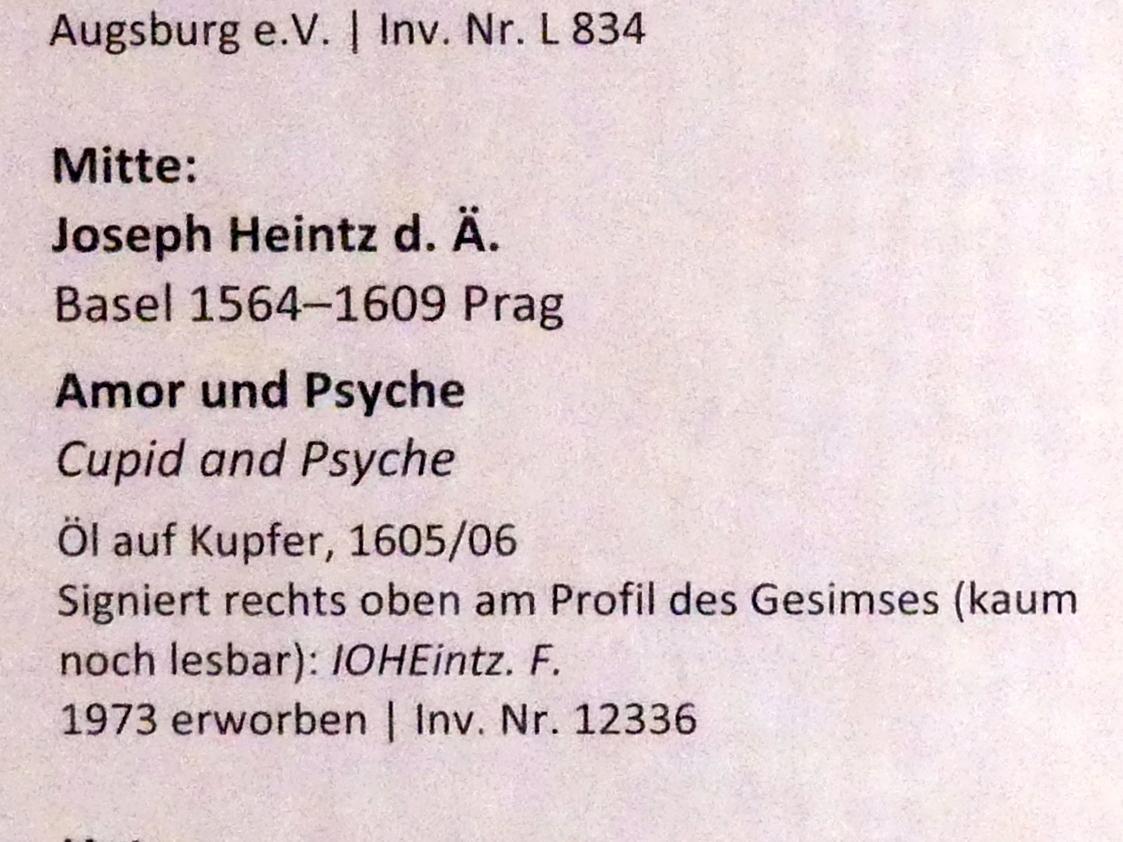 Joseph Heintz der Ältere: Amor und Psyche, 1605 - 1606, Bild 2/2