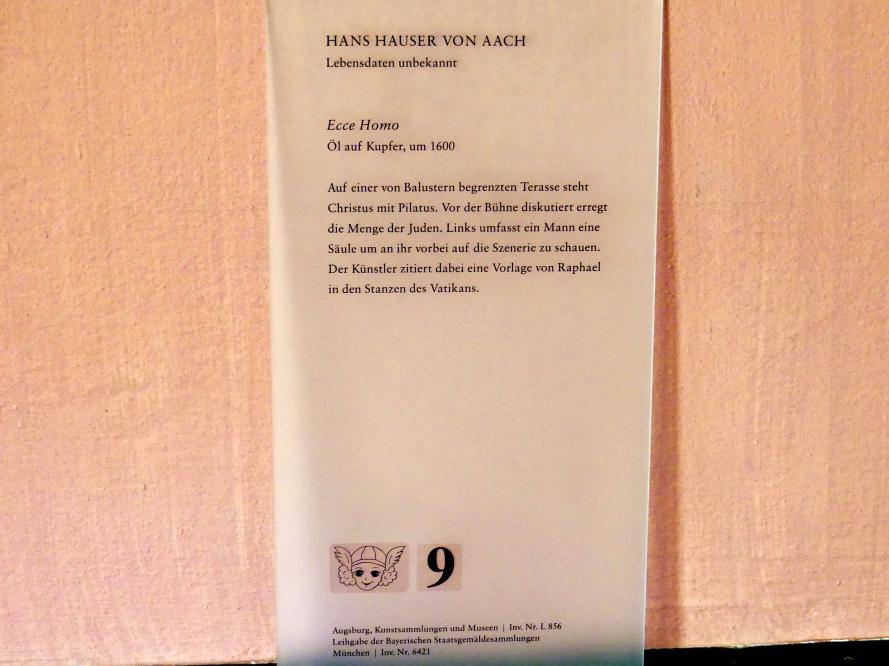 Hans Hauser von Aach: Ecce Homo, um 1600, Bild 2/2