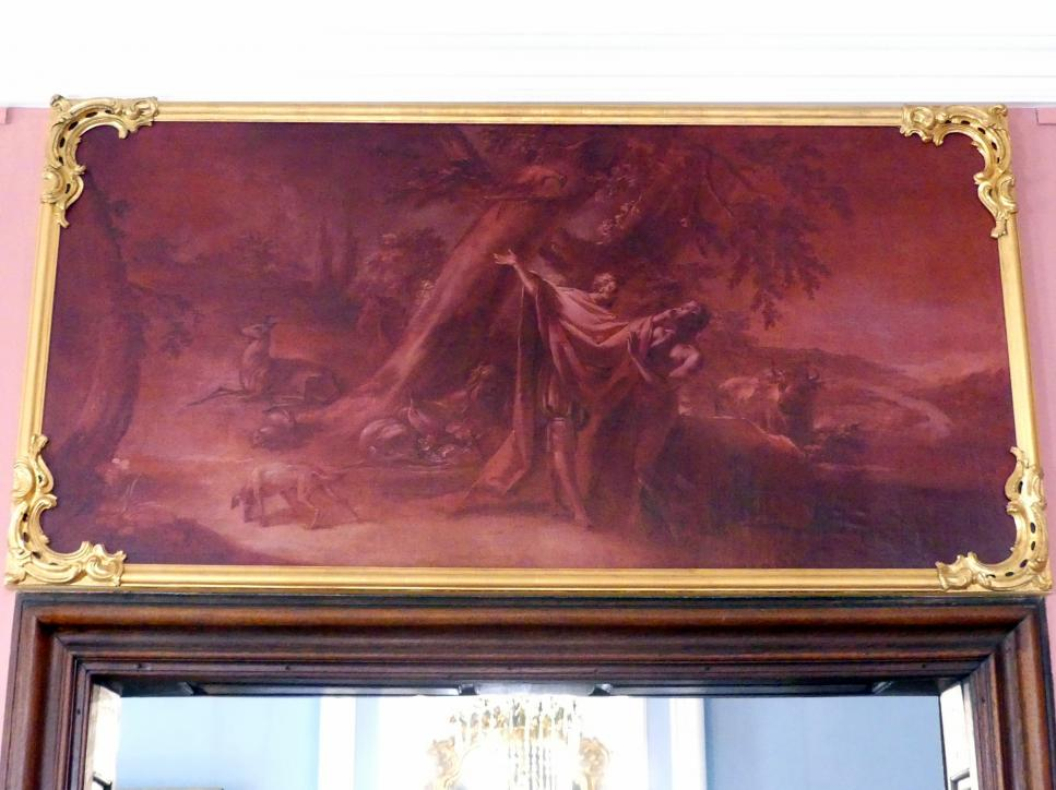 Joseph Christ: Prometheus formst den Menschen, Um 1770