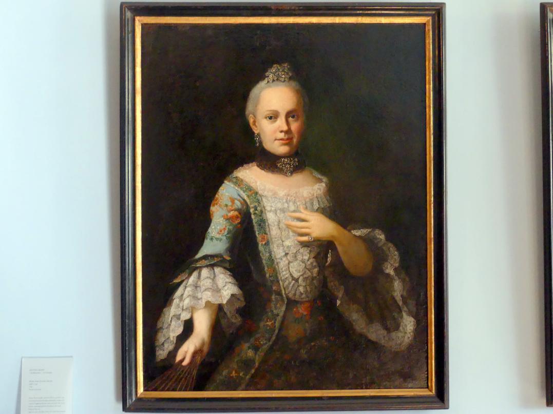 Anton Graff: Marie Anne Josephe Ducrue (geb. 1739), 1766