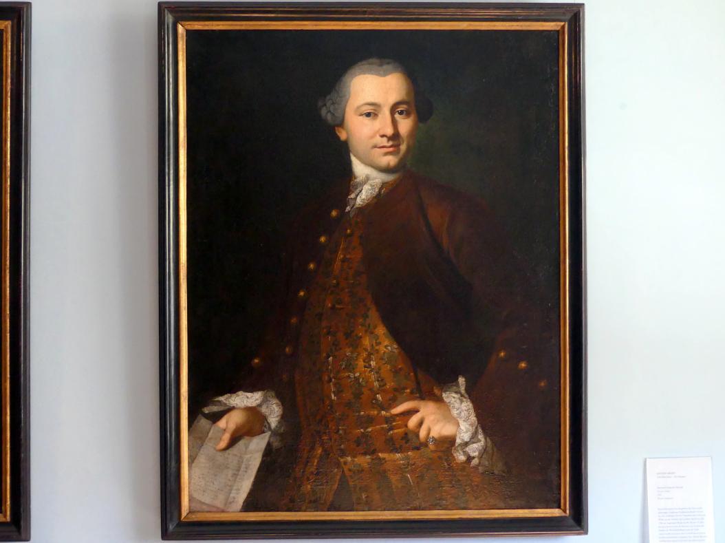 Anton Graff: Bernard Bernard François Ducrue (1730-1796), 1761