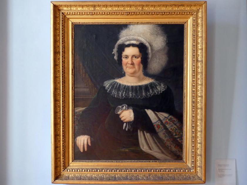 Peter Ferdinand Deurer: Marianne Barbara Freifrau von Schaezler (1768-1838), 1816