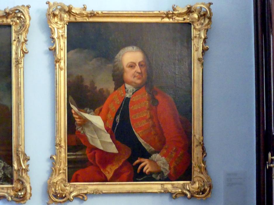 Sophonias de Derichs: Johann Adam Liebert Edler von Liebenhofen (1697-1766), Undatiert