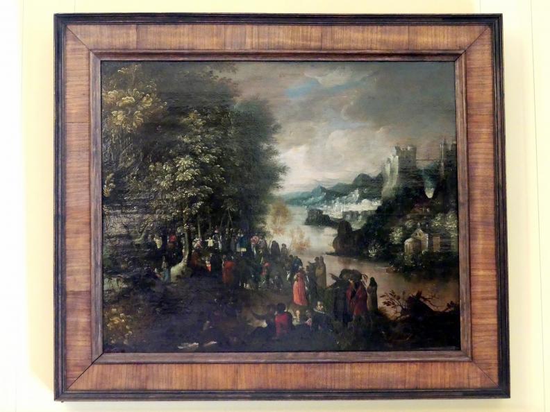 Anton Mozart: Die Predigt Johannes des Täufers, 1602
