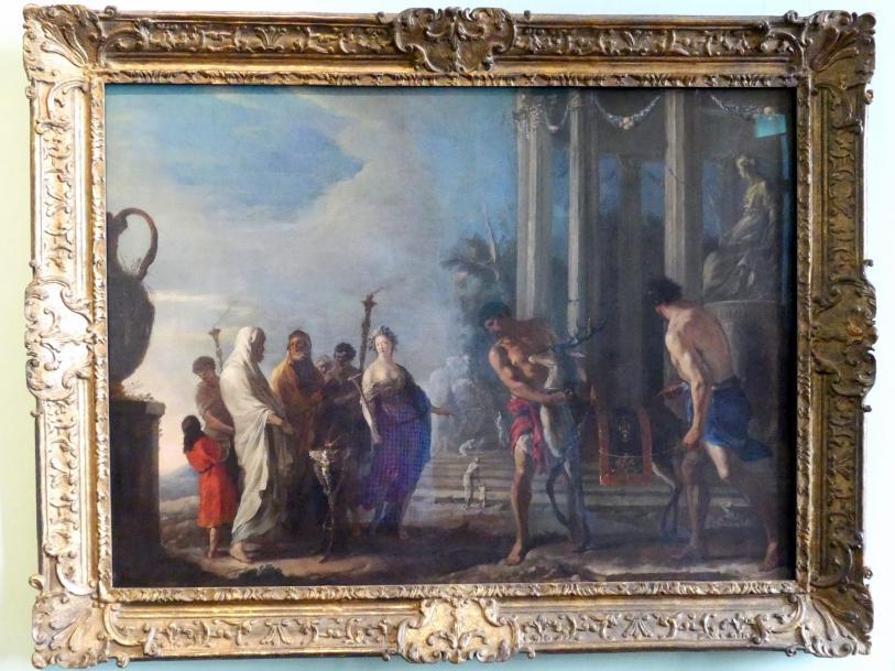 Johann Heinrich Schönfeld: Opfer an Diana, Vor 1638