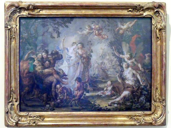Johann Georg Platzer: Bacchus und Ceres, Undatiert