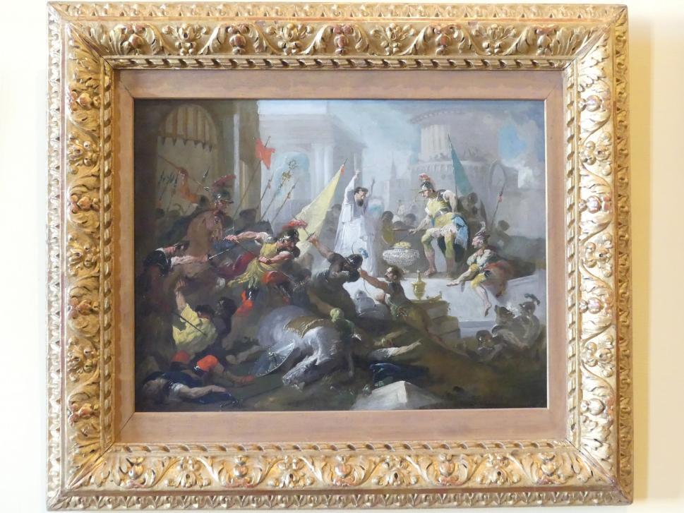 Franz Anton Maulbertsch: Der Übermut des Brennus, Um 1794 - 1795