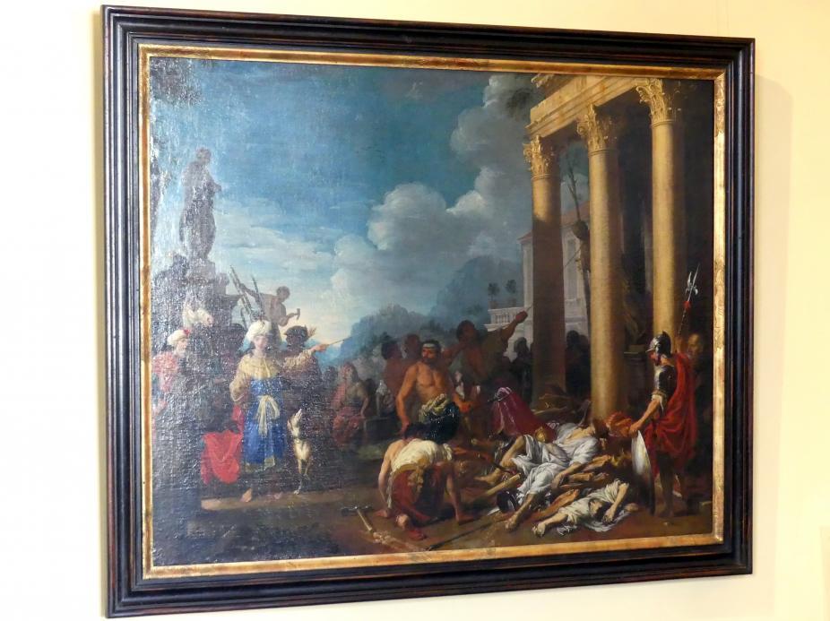 Johann Heiss: Die Zerstörung des Dianatempels, 1675