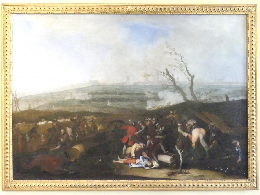 Georg Philipp Rugendas: Darstellung der Belagerung Augsburgs, 1704 - 1706