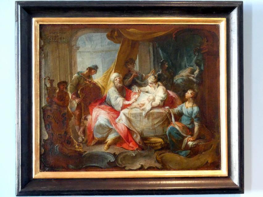 Johann Wolfgang Baumgartner: Die Beschneidung Isaaks, 1755 - 1760