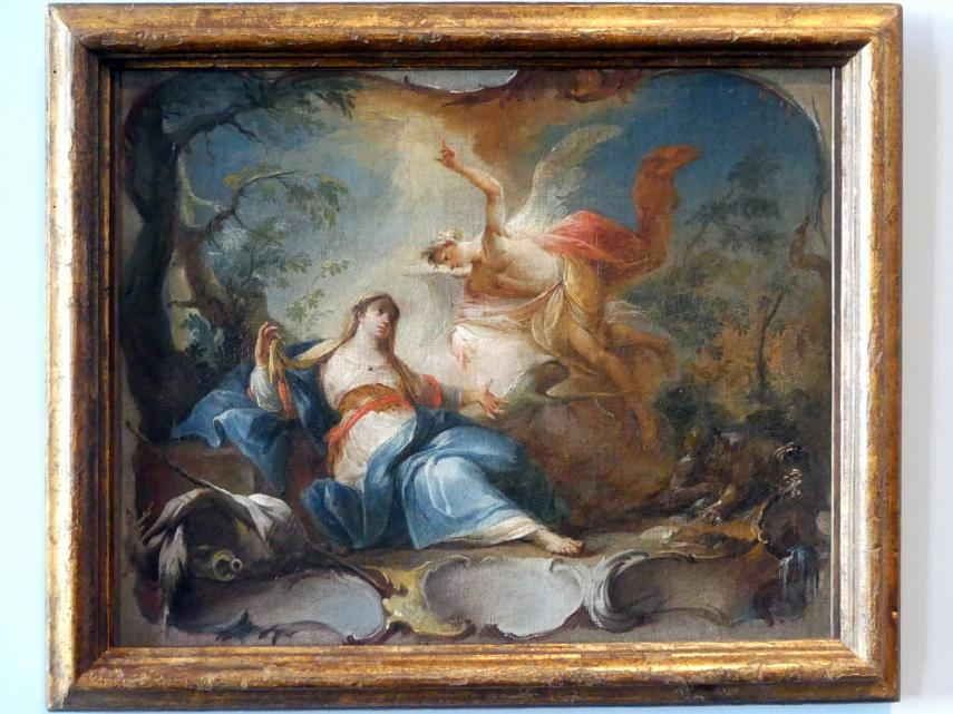 Johann Wolfgang Baumgartner: Hagar und Ismael in der Wüste, 1755 - 1760