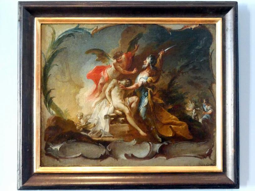 Johann Wolfgang Baumgartner: Abraham opfert Isaak, 1755 - 1760