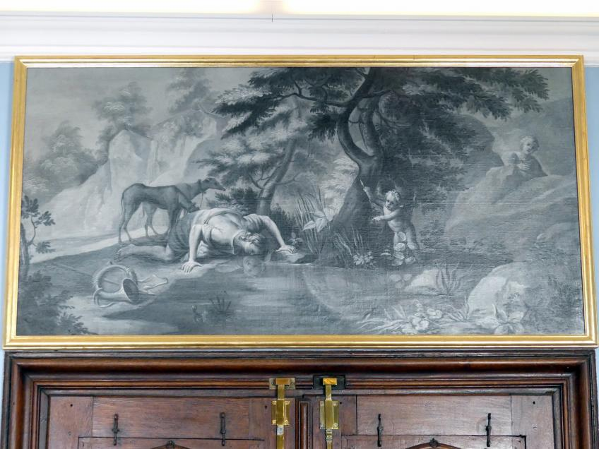 Joseph Christ: Narziss und Echo, Um 1770
