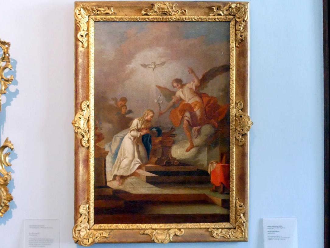 Johann Josef Anton Huber: Mariä Verkündigung, Ende 18. Jhd.