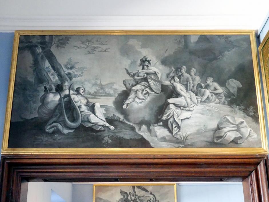 Joseph Christ: Der Streit der Musen, Um 1770