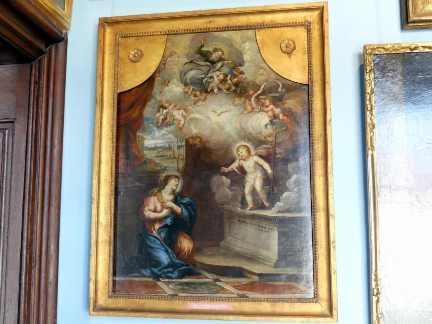 Johann Rieger: Maria betet das Kind an, Undatiert