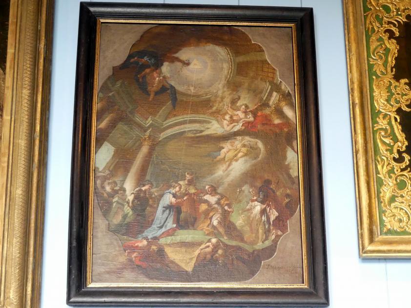 Joseph Mages: Vermählung Mariens, 1765
