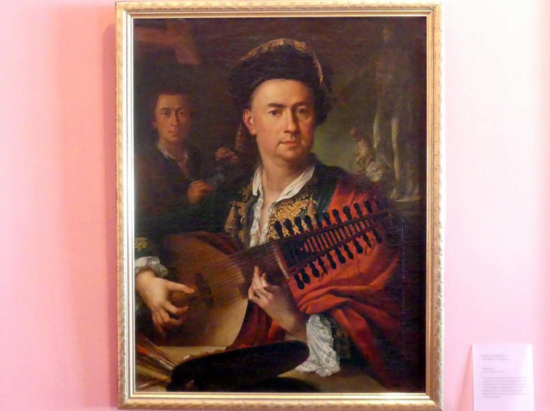 Franz Joseph Degle: Selbstbildnis, Um 1780