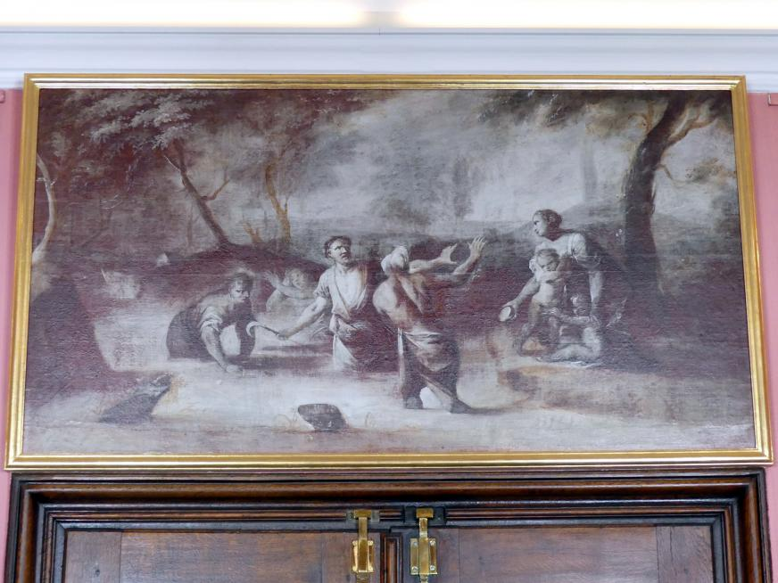 Joseph Christ: Die lykischen Bauern, Um 1770