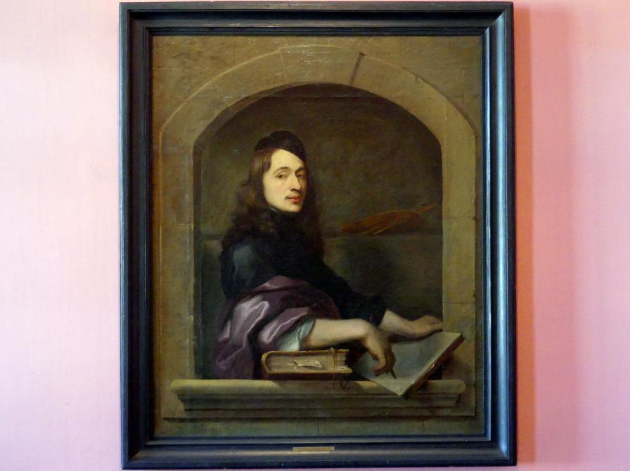 Johann Ulrich Mayr: Selbstbildnis, 1663