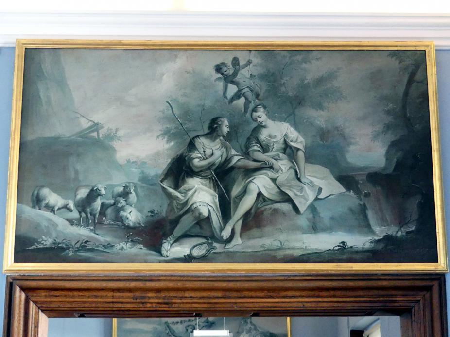 Joseph Christ: Apollo und Isse, Um 1770