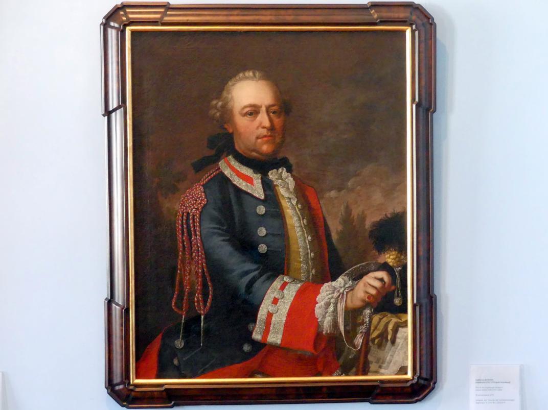 Sophonias de Derichs: Portrait des Augsburger Verlegers Johann Martin Will (1727-1806), 1772