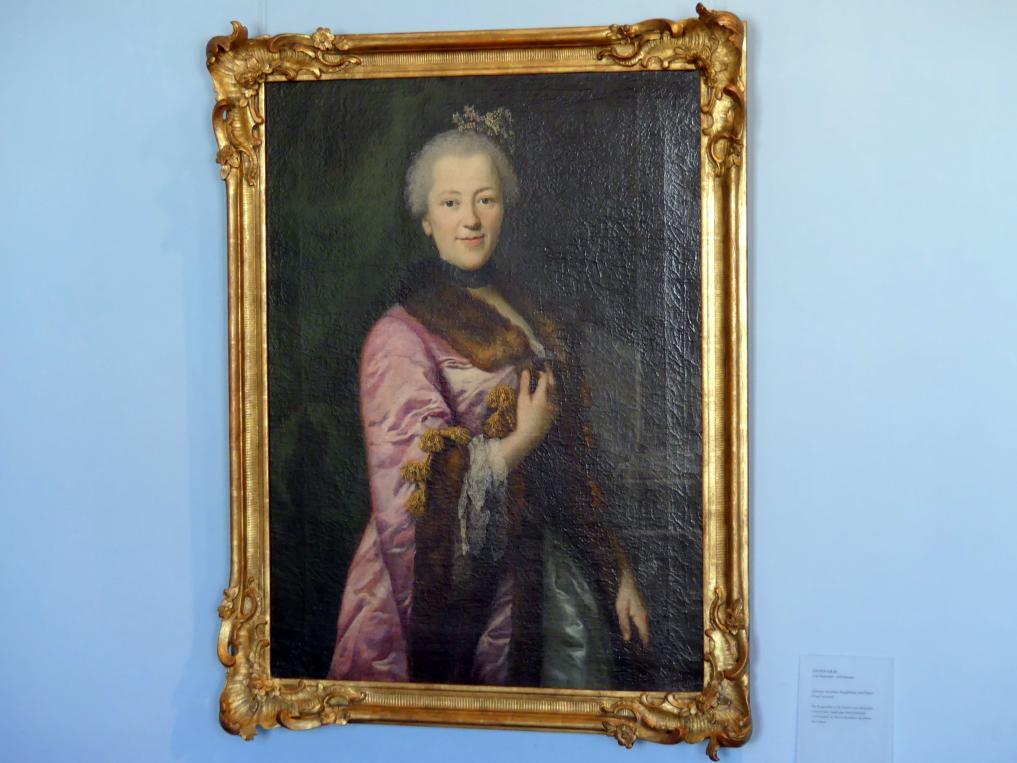 Anton Graff: Johanna Jacobina Magdalena von Pfister, Undatiert