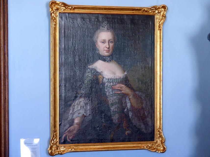 Anton Graff: Anna Sybilla Gullmann, geb. Benz (1735-1763), Um 1761