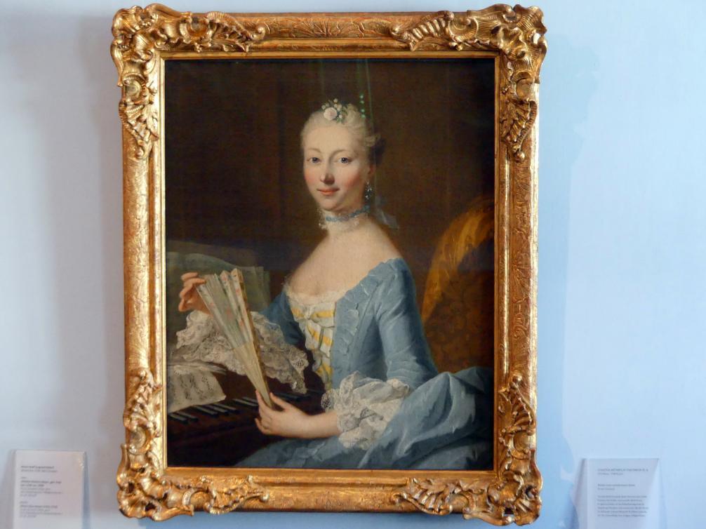 Johann Heinrich Tischbein der Ältere: Bildnis einer unbekannten Dame, Undatiert