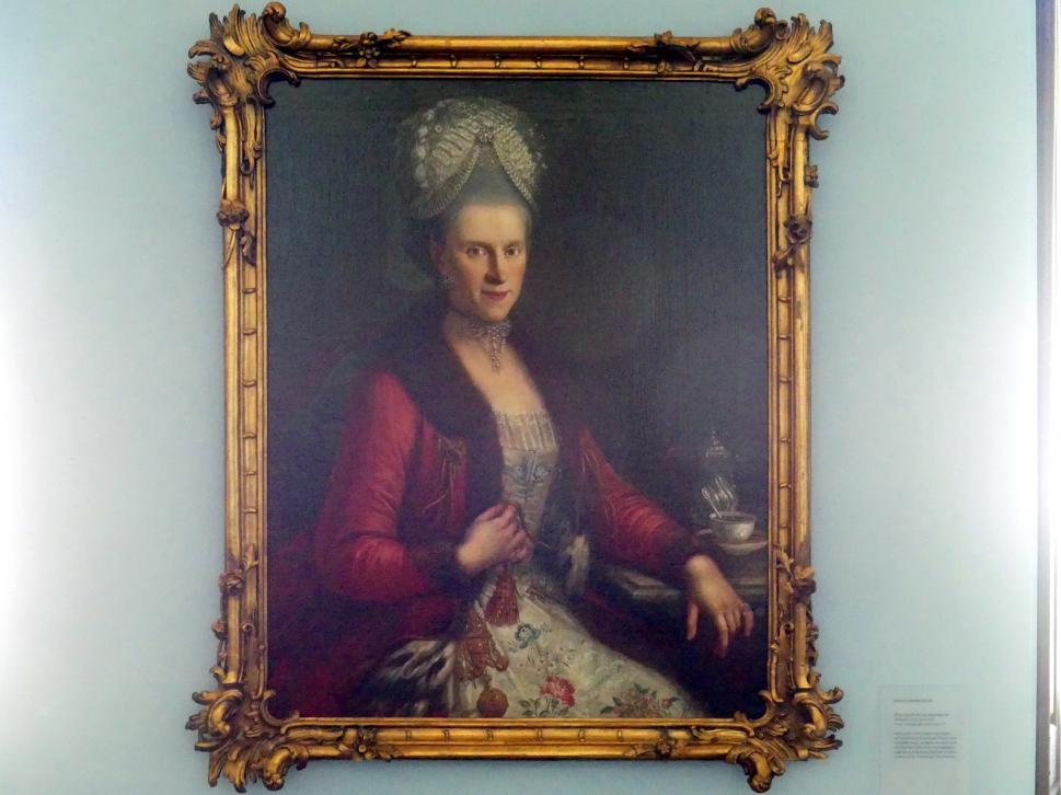 Franz Joseph Degle: Maria Josepha Victoria Magdalena von Obwexer (1724 - nach 1778), 1777