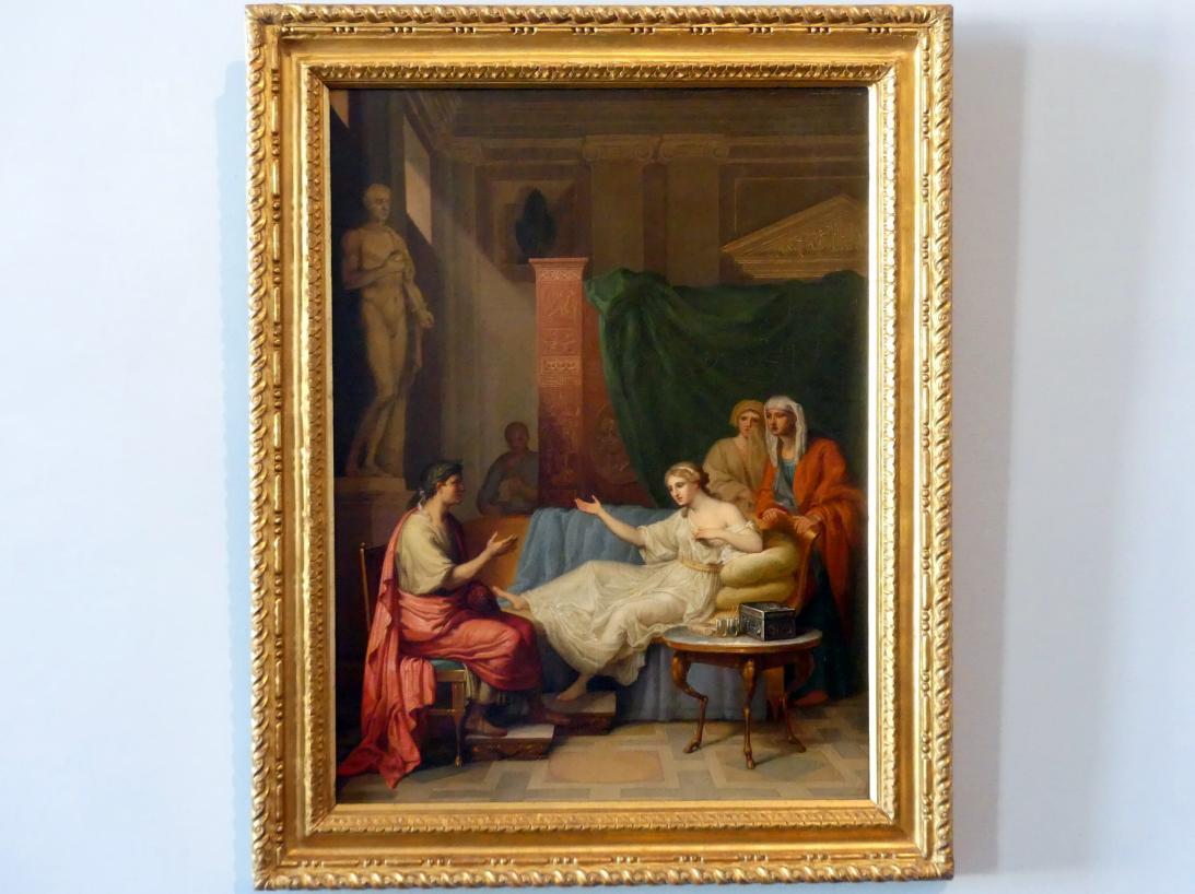Anton Raphael Mengs: Augustus und Kleopatra, 1759