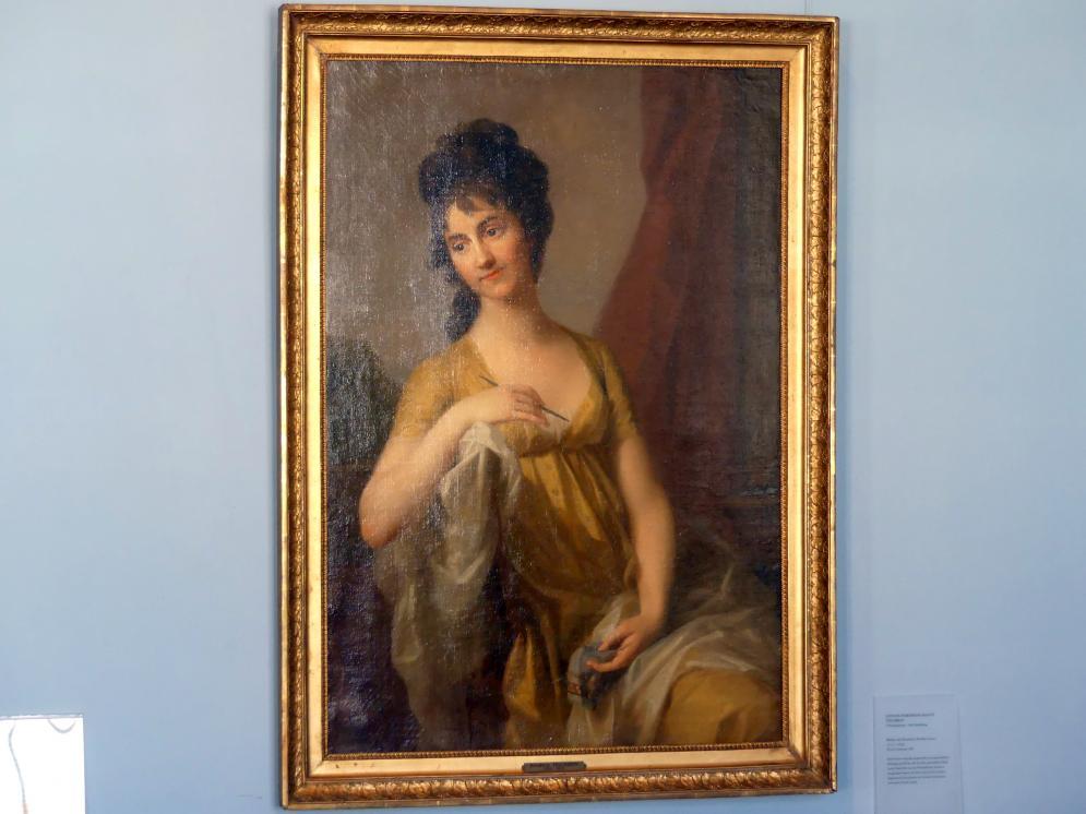 Johann Friedrich August Tischbein: Bildnis der Dominica Martha Grassi (1775-1854), 1800