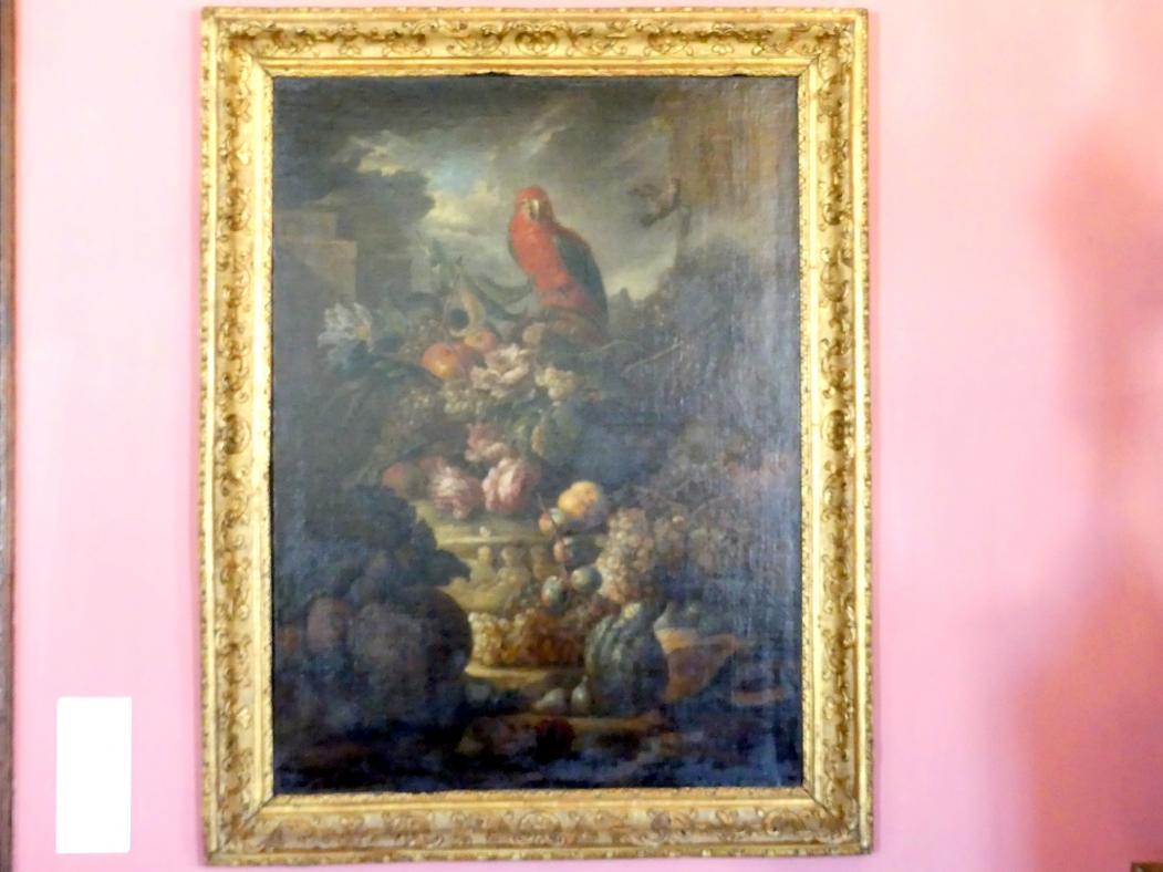 Stillleben mit Papagei, um 1700