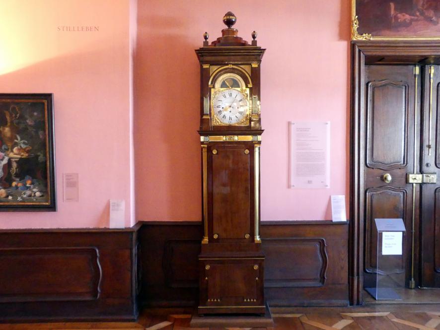 David Roentgen: Bodenstanduhr mit Musikwerk, um 1785