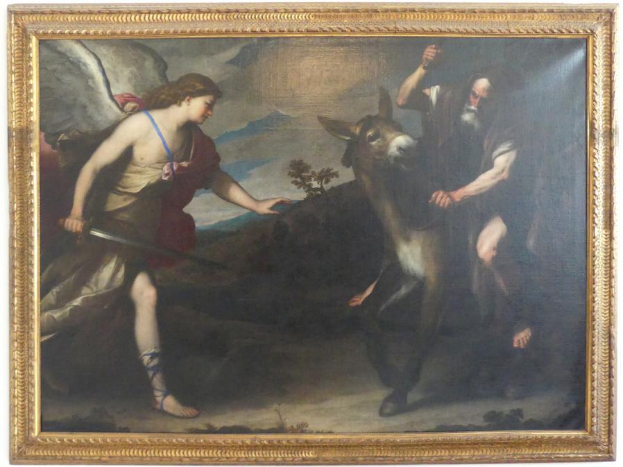Luca Giordano: Bileam und der Engel, Nach 1666