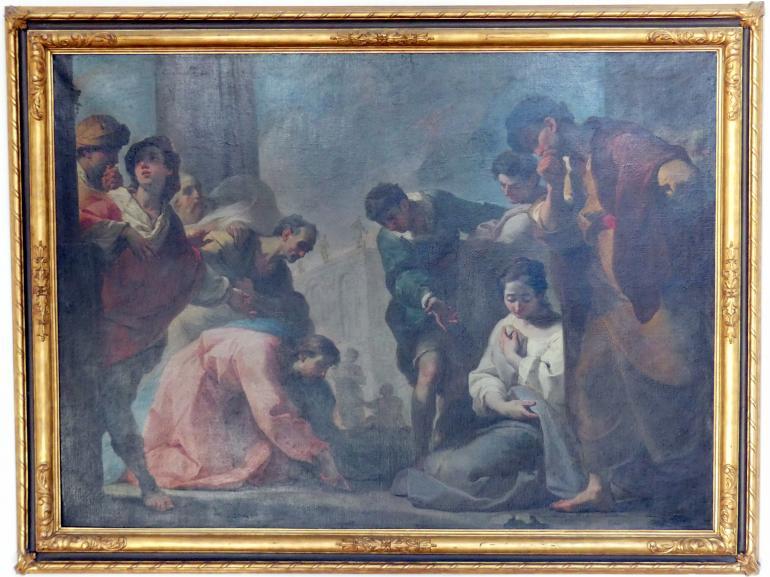 Ubaldo Gandolfi: Christus und die Ehebrecherin, Um 1764