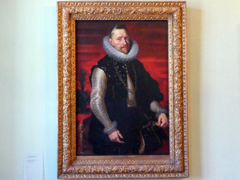 Peter Paul Rubens (Werkstatt): Bildnis Erzherzog Albrecht VII. von Österreich (1559-1621), Um 1615