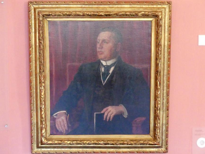Wilhelm Trübner: Bildnis des Karl Haberstock (1878-1956), 1914