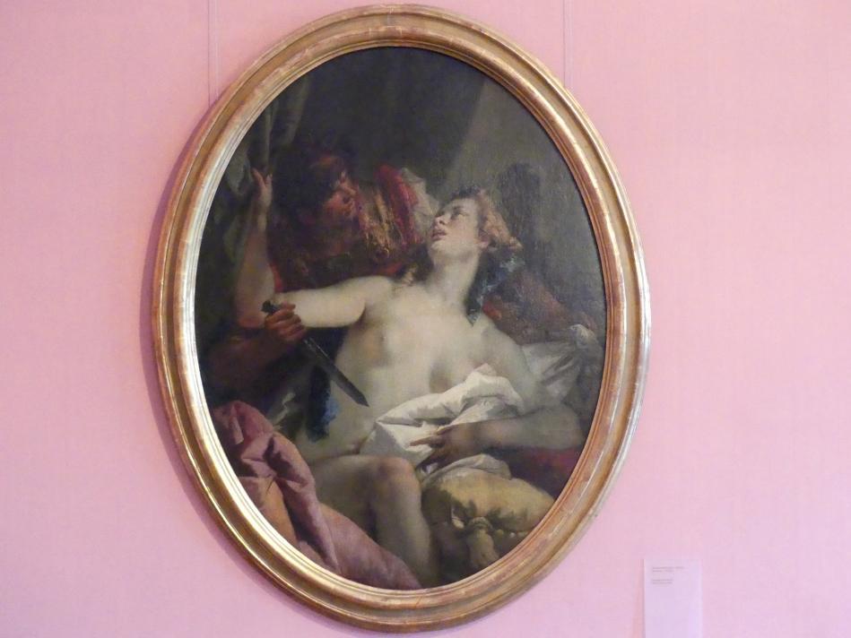 Giovanni Battista Tiepolo: Tarquinius und Lucretia, 1749 - 1750