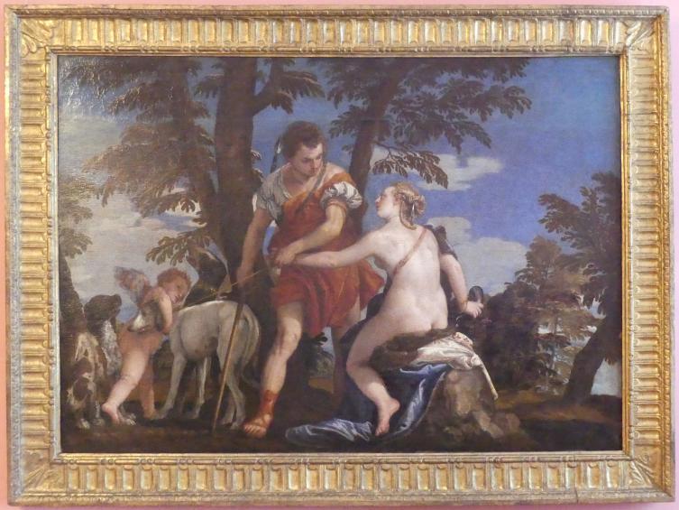 Paolo Caliari (Veronese): Venus und Adonis, Undatiert