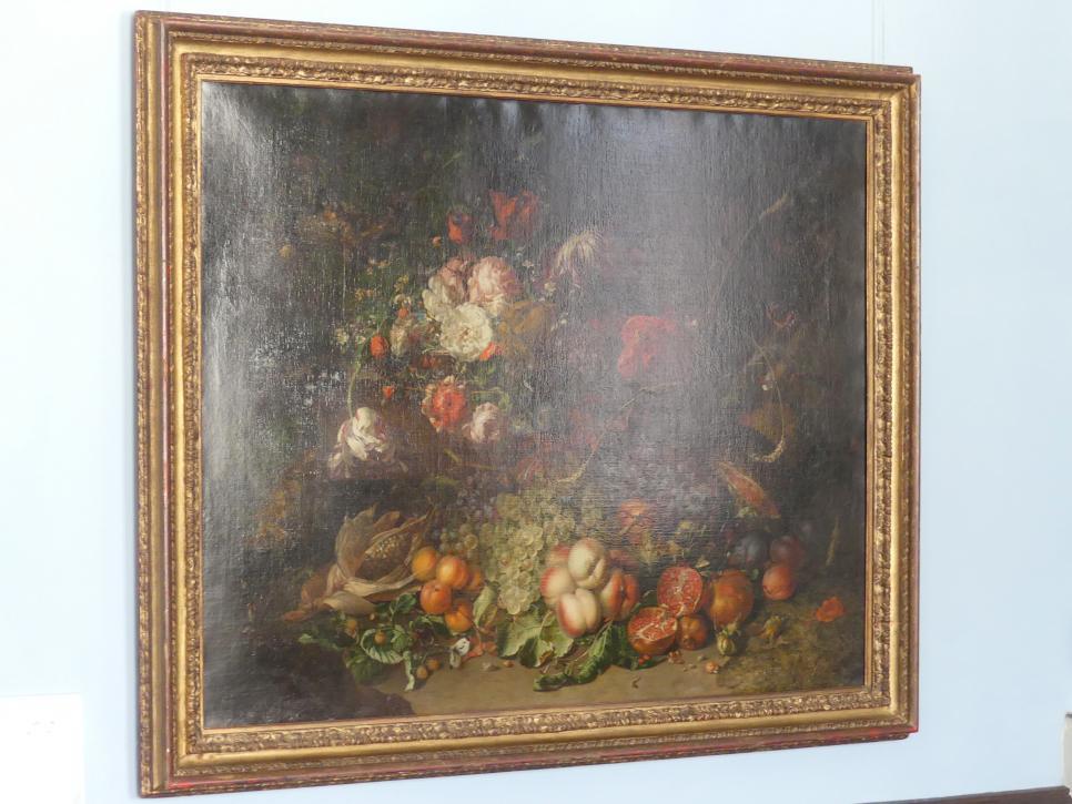 Rachel Ruysch: Stillleben mit Blumen und Früchten, 1714