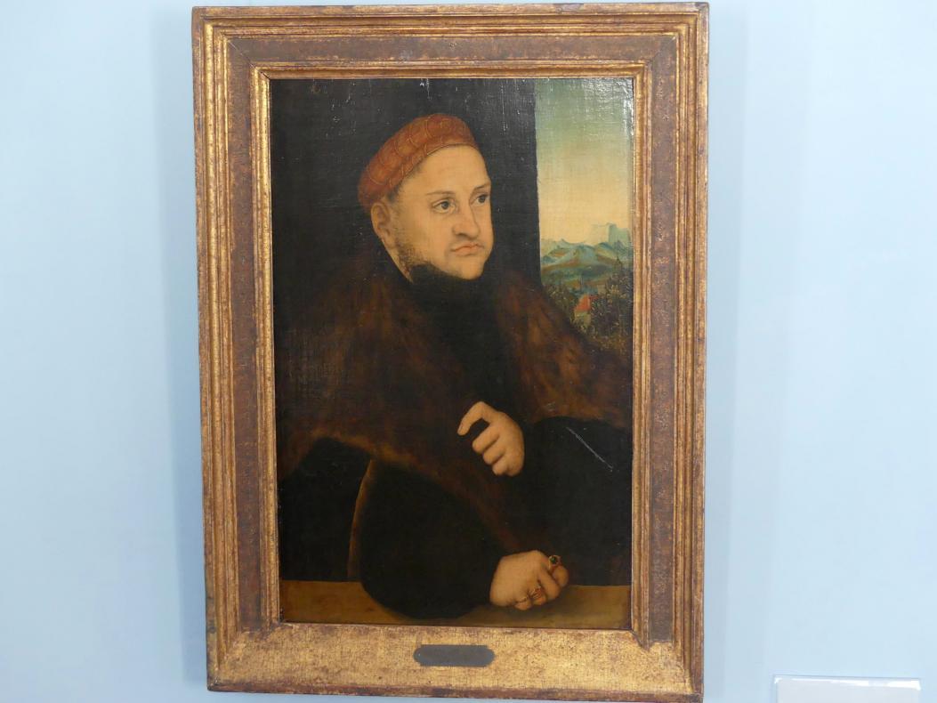 Lucas Cranach der Ältere: Kurfürst Friedrich III. der Weise von Sachsen, um 1515 - 1520