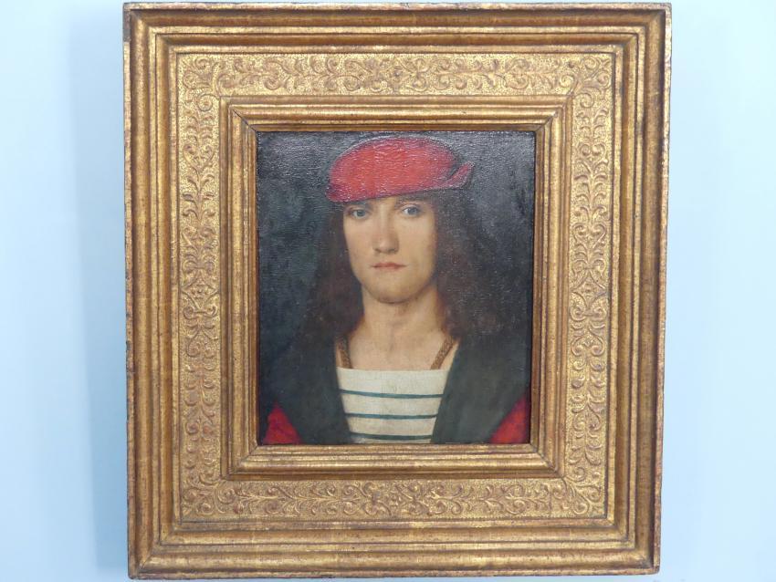 Bildnis eines jungen Mannes, Um 1500