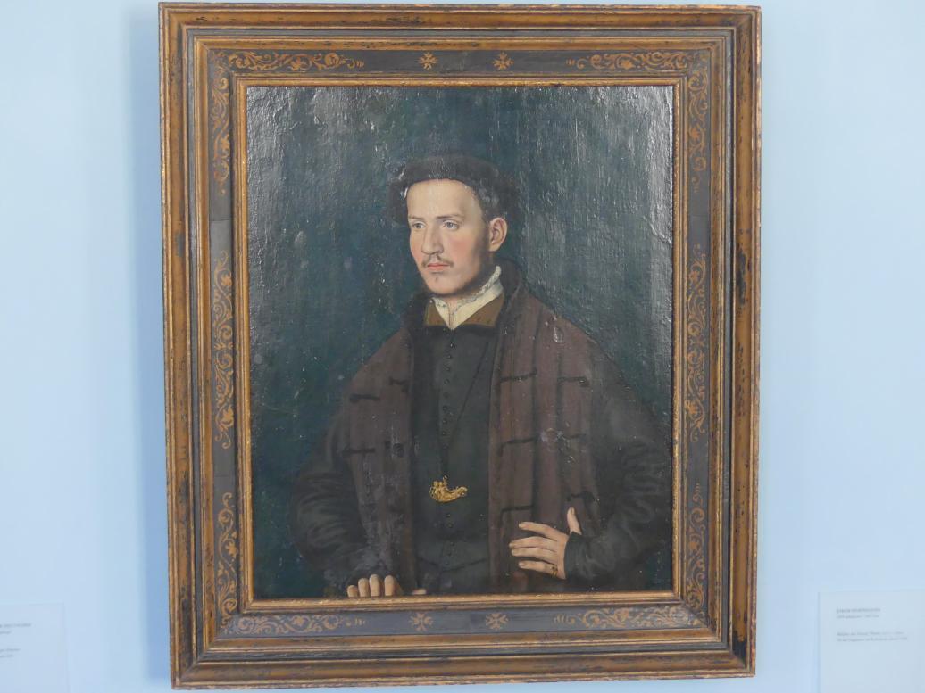 Jakob Seisenegger: Bildnis des Georg Thenn (1517-1592), 1540