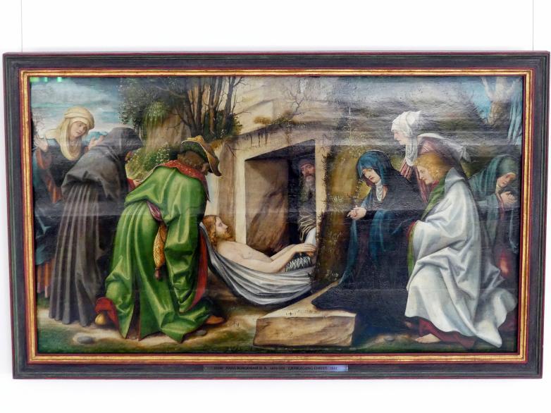 Hans Burgkmair der Ältere: Grablegung Christi, 1521