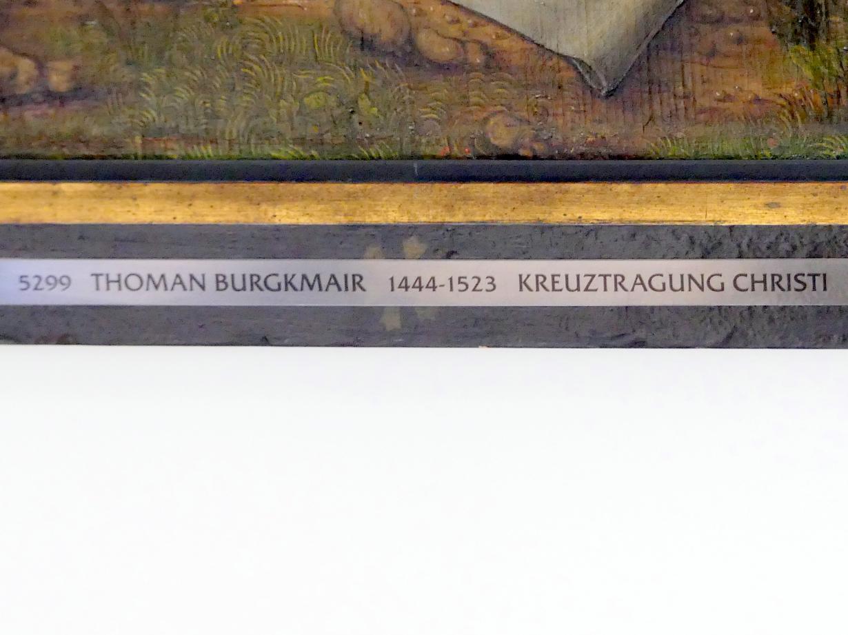 Thoman Burgkmair: Szenen aus der Passion Christi, um 1490 - 1500, Bild 4/6