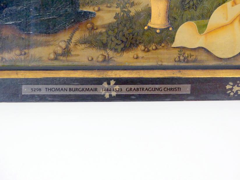 Thoman Burgkmair: Szenen aus der Passion Christi, um 1490 - 1500, Bild 5/6