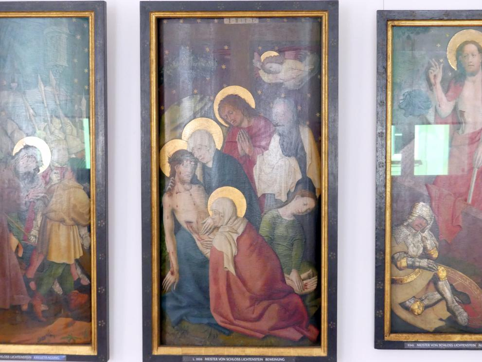 Meister von Schloss Lichtenstein: Beweinung, um 1450