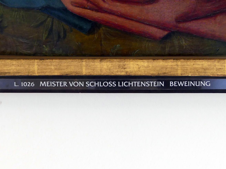Meister von Schloss Lichtenstein: Beweinung, um 1450, Bild 2/3