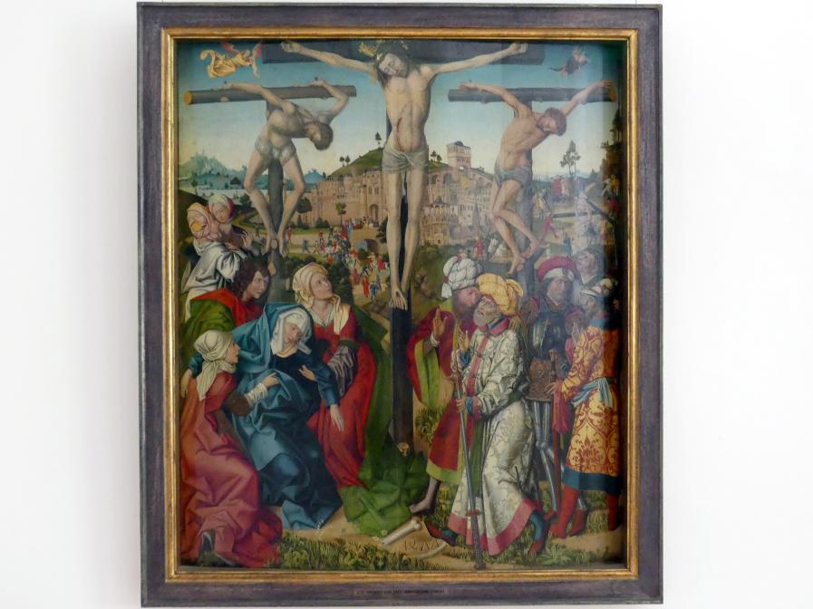 Meister von 1477: Kreuzigung Christi, 1477